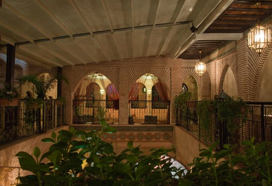 Riad & Spa Mabrouk : Terrace