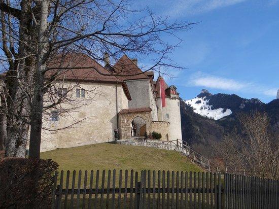 Château de Gruyères : A entrada do castelo