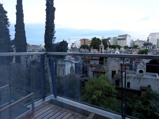 Sileo Hotel: Vista da varanda do 3 andar.