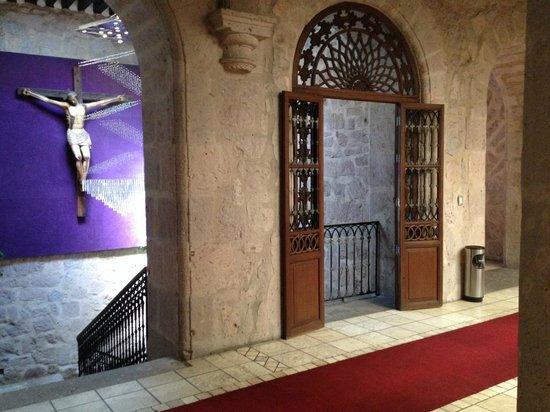 Cantera Diez Hotel Boutique: Courtyard