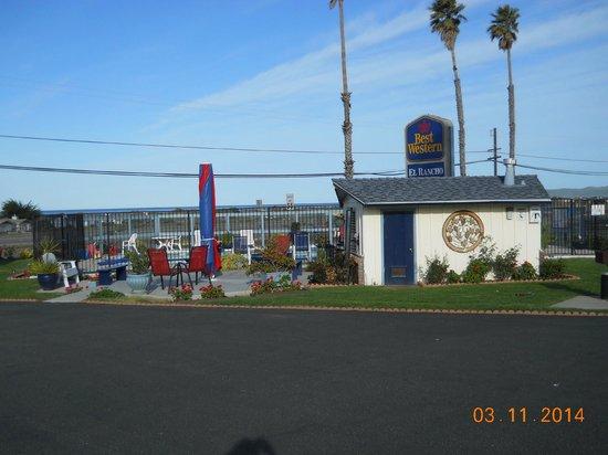 Best Western El Rancho: Toddy area