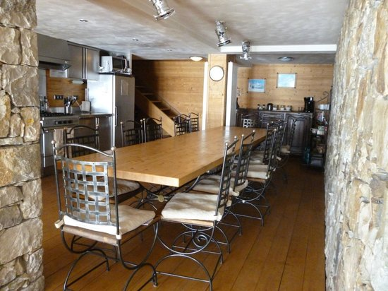 Chalet Cairn : Dining area