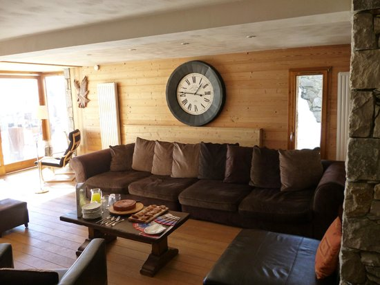 Chalet Cairn : Seating area