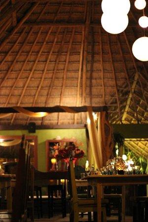 El Pez Colibri Boutique Hotel: restaurante/recepcion