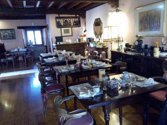 La Arquera Hotel: Comedor para desayunos