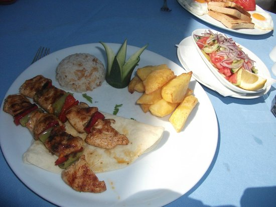 Butterfly Restaurant: My Lovely Lunch Time Meal