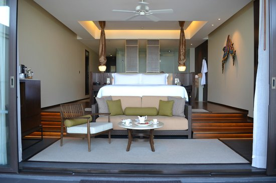Vana Belle, A Luxury Collection Resort, Koh Samui : Interior, ocean view pool suite