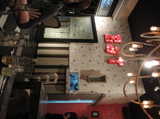 Cocina Urbana: Tolle Dekorationen im gesamten Restaurant