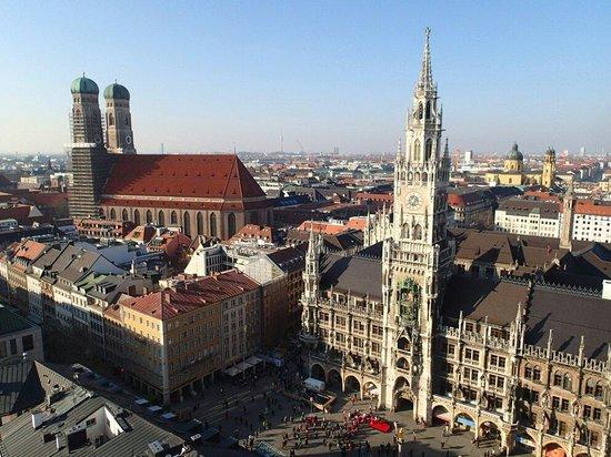 Marienplatz vom Alten Peter