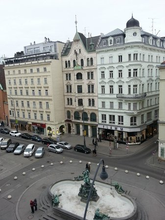 Austria Trend Hotel Europa Wien: The view
