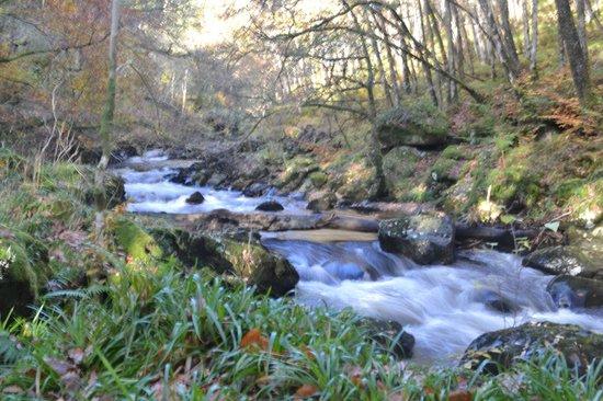 Deil's Cauldron: Downstream of the cauldrons
