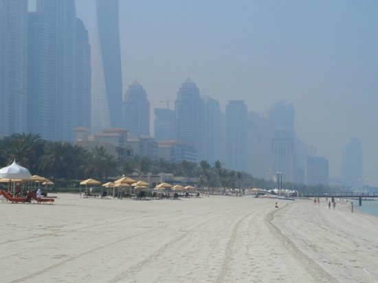 Arabian Court at One&Only Royal Mirage Dubai : Private Beach