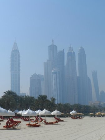 Arabian Court at One&Only Royal Mirage Dubai: View from Private Beach