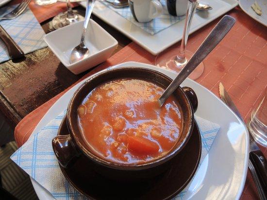 Tasca la Monteria : Eine perfekte kalte spanische (andalusische) Gazpacho