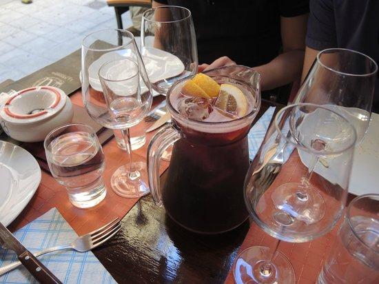 Tasca la Monteria : Leckere frische Sangria