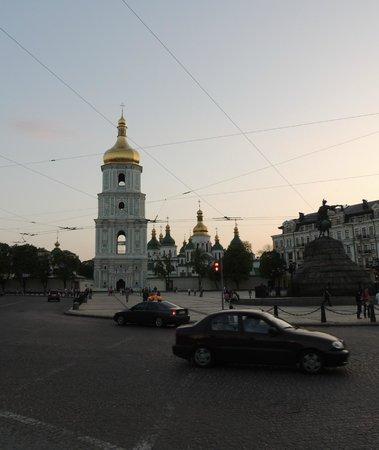 Hyatt Regency Kiev: Вид от отеля