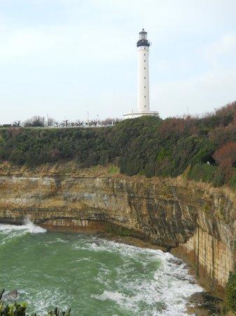 Biarritz Lighthouse : le phare surplombant les falaises