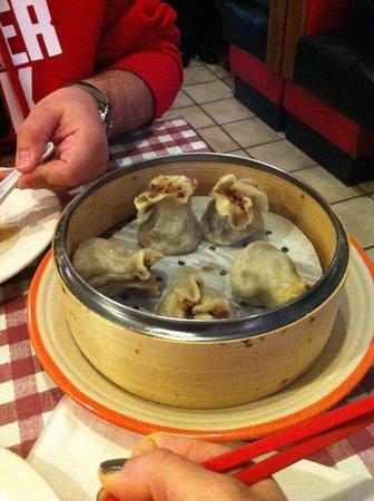 Shanghai Cuisine : Dim sum avec riz. A tomber!!!