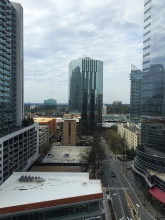 InterContinental Buckhead Atlanta: View from 1204 corner room
