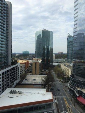 InterContinental Buckhead Atlanta : View from 1204 corner room