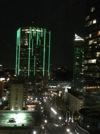 InterContinental Buckhead Atlanta: Night view from 1204