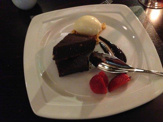 Crown Wetheral Hotel: fabulous dessert