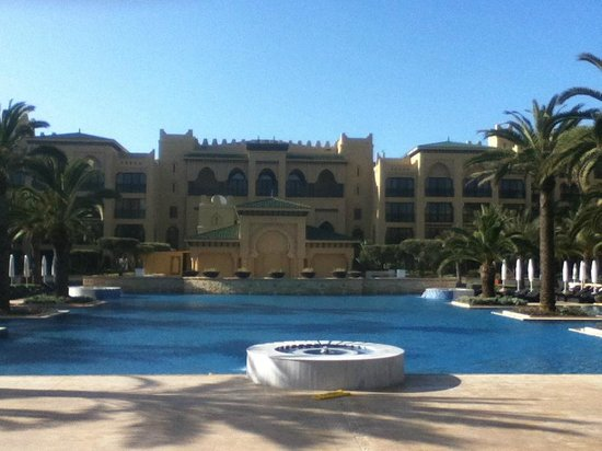 Mazagan Beach & Golf Resort : Outdoor Pool Area