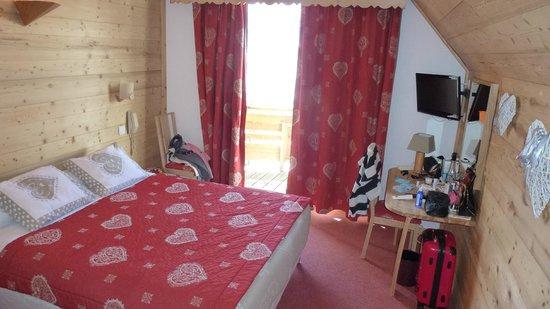 Hotel Adret: Chambre
