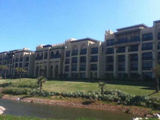 Mazagan Beach & Golf Resort : Hotel From The Beach