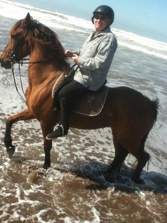 Mazagan Beach & Golf Resort : Horseriding On The Beach