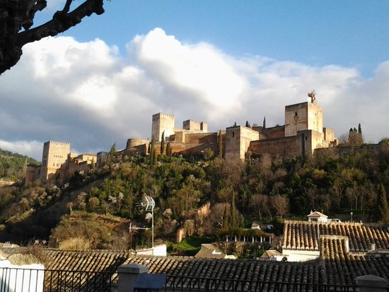 Melia Granada: vista de la Alhambra