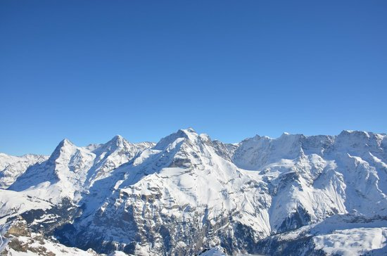 Vista desde Schilthorn Piz-Gloria