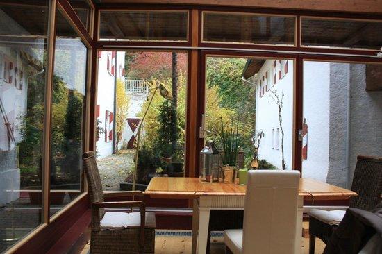 Schlosshotel Iglhauser: interno sala colazione