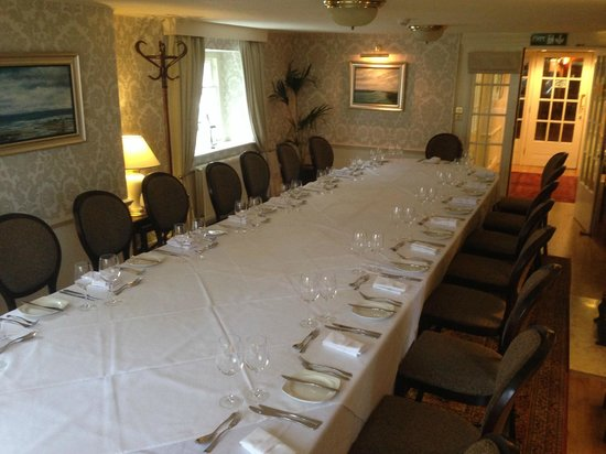 Crown Wetheral Hotel: private dining area