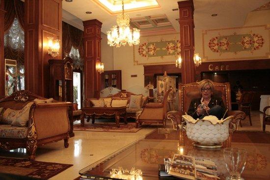 Deluxe Golden Horn Sultanahmet Hotel: Le superbe Lobby