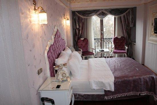Deluxe Golden Horn Sultanahmet Hotel : La chambre 307