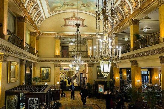 The Pfister Hotel: The Lobby.