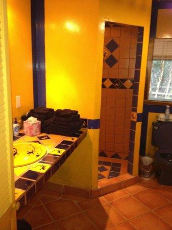 Rio Bec Dreams: bathroom