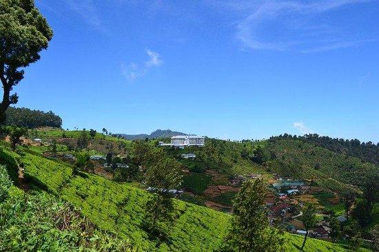 Heritance Kandalama: Spectacular view of the hotel