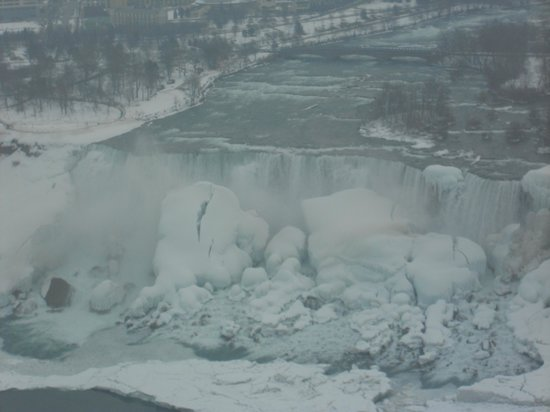 Chariots of Fire Ltd. : The American side of the falls in winter 2014