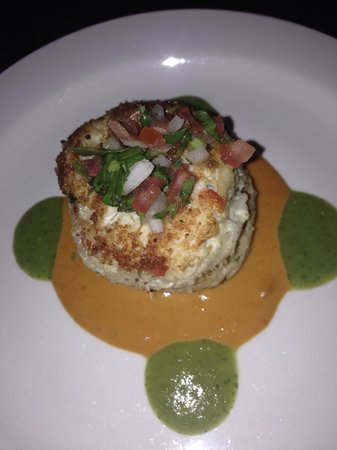 Backstreet Cafe: Crab cake