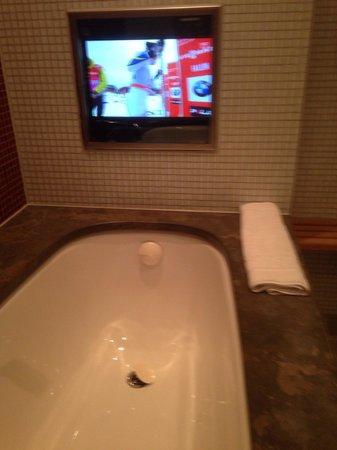 Scandic Crown : Tv i badet