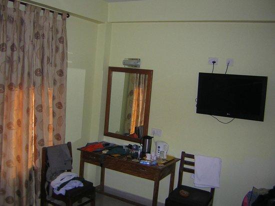 Hotel Rhishabh: bollitore senza caffè o thè