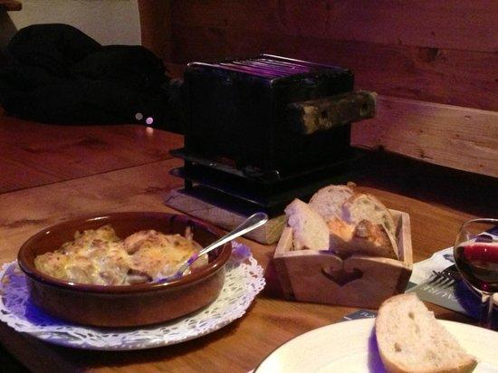 Pizzeria chez pierrot : La fameuse braserade et son délicieux gratin