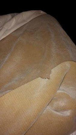 Americas Best Value Inn & Suites -  LAX / El Segundo : Bedding is in very bad shape.