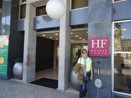 HF Fenix Lisboa : FRENTE DO HOTEL HF FENIX MARQUES DO POMB