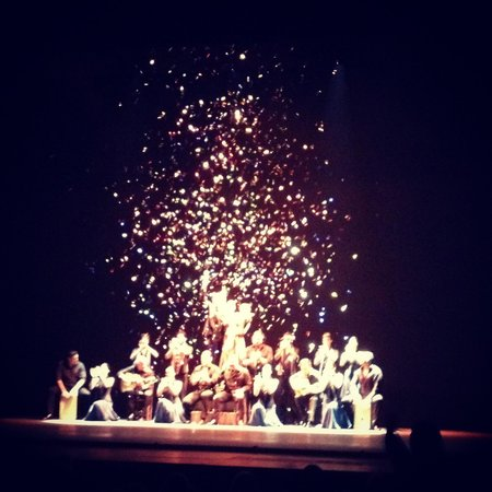 Sadler's Wells: The finale. This pic was taken by my iphone from my seat.