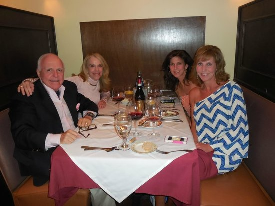 Amalfi Grille : Ron, Molly, Lisa, Kim Ron's Birthday