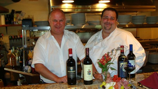 Amalfi Grille : Bobbie Rose and Chef Chet Owners