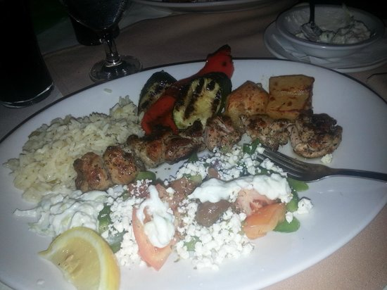 Yiamas : Yum! Chicken souvlaki!